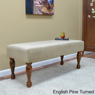 Biscotti Brown Romance Bench