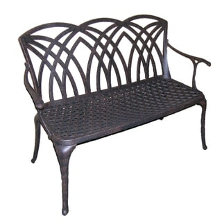 Classical Aluminum Outdoor Bench