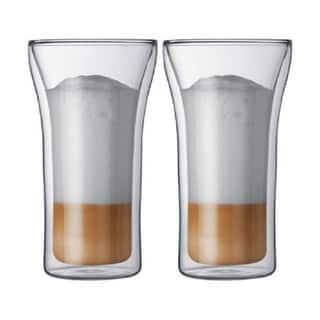 Bodum Assam Double-walled Beer Glass Set