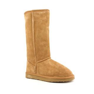 Ukala Women's 'Sydney High' Regular Suede Boots - Wide (Size 8)