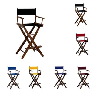Bar-high Oak Mission Oak Frame Director's Chair