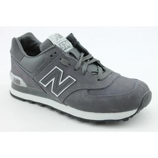New Balance Men's 'ML574' Nubuck Athletic Shoes (7.5)