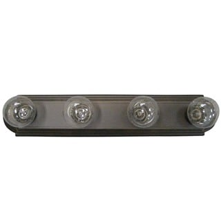 Olde Bronze Transitional 4-light Bath/ Vanity Light