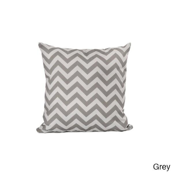 Chateau Designs Outdoor Chevron Throw Pillow (20 x 20)