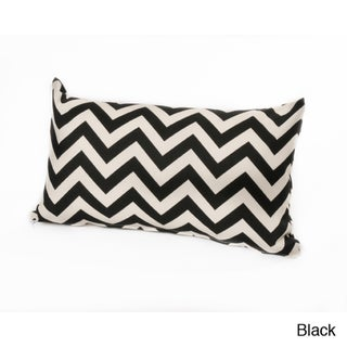 Chateau Designs Outdoor Chevron Lumbar Pillow (12 x 20)
