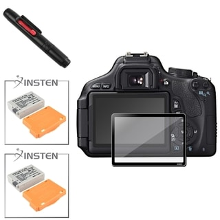 BasAcc Cleaning Kit/ Battery/ Glass Protector for Canon EOS 600D