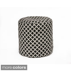 Chateau Designs Bamboo Pattern Outdoor Casual Beanbag Cylinder