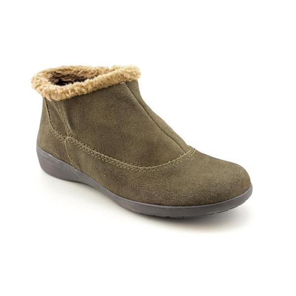 Easy Spirit Women's 'IcyFeet' Regular Suede Boots - Narrow (Size 8)