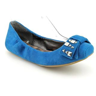 Jessica Simpson Women's 'Lafayette' Blue Regular Suede Casual Shoes