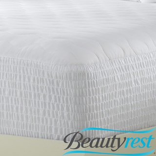 Beautyrest Stain Release 400 Thread Count Pima Cotton Mattress Pad