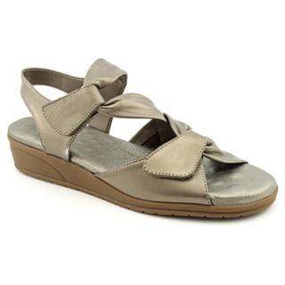 Elites by Walking Cradies Women's 'Valerie' Leather Sandals - Narrow (Size 7.5)