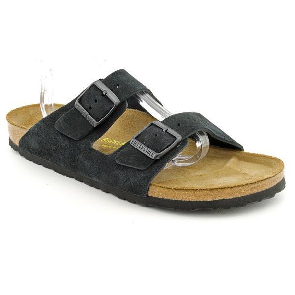 Birkenstock Women's 'Arizona' Regular Suede Sandals - Narrow (Size 13)