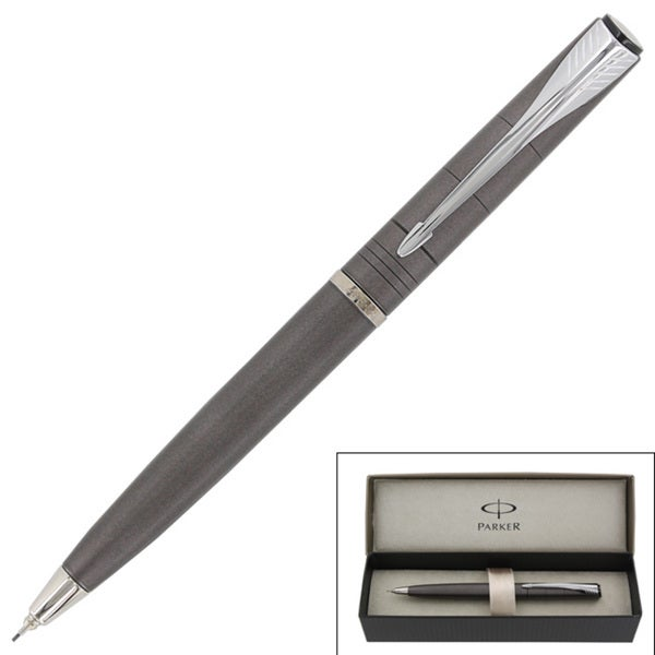 Parker Latitude Warm Grey Chrome 0.5mm Mechanical Pencil