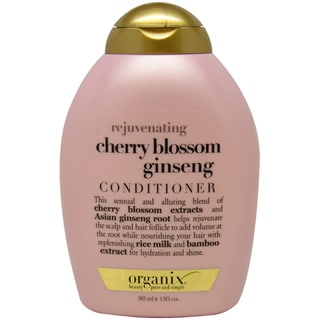 Organix Rejuvenating Cherry Blossom Ginseng 13-ounce Conditioner