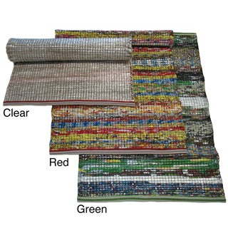 Indo Indoor/Outdoor Multicolored Recycled Mat (2' x 3')