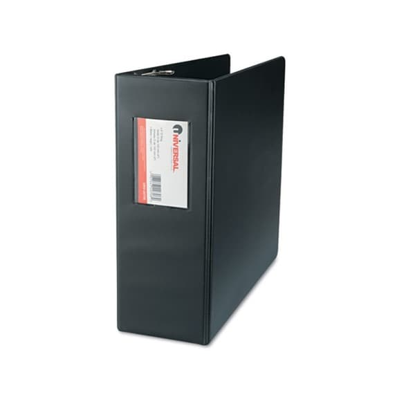 Universal D-Ring Black Binder (Pack of 6)