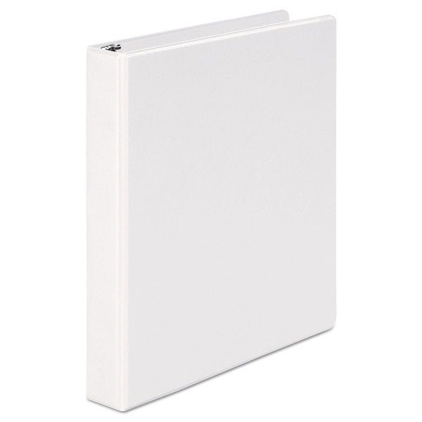 Universal Round Ring Economy View White Binder (Pack of 8)