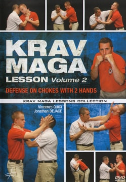 Krav Maga Lesson: Vol. 2: Defense on Chokes with Two Hands (DVD)