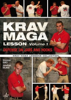 Krav Maga Lesson: Vol. 1: Defense on Jabs and Hooks (DVD)