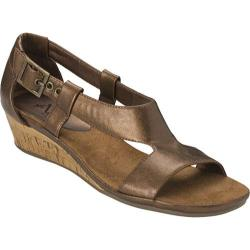 Women's A2 by Aerosoles Crown Chewls Bronze PU