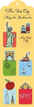 New York City Magnetic Bookmarks (Bookmark)