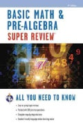 Basic Math & Pre-Algebra Super Review (Paperback)