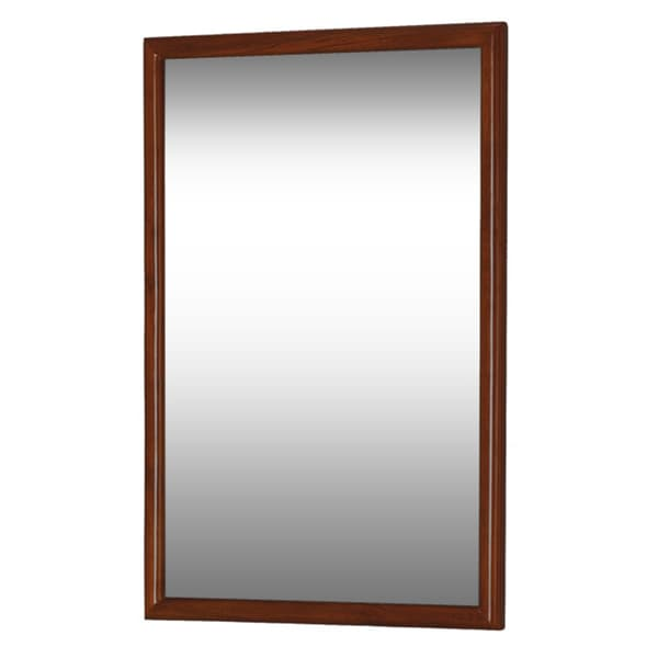 DreamLine Framed Mahogany Bathroom Mirror