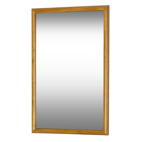 DreamLine Framed Oak Bathroom Mirror