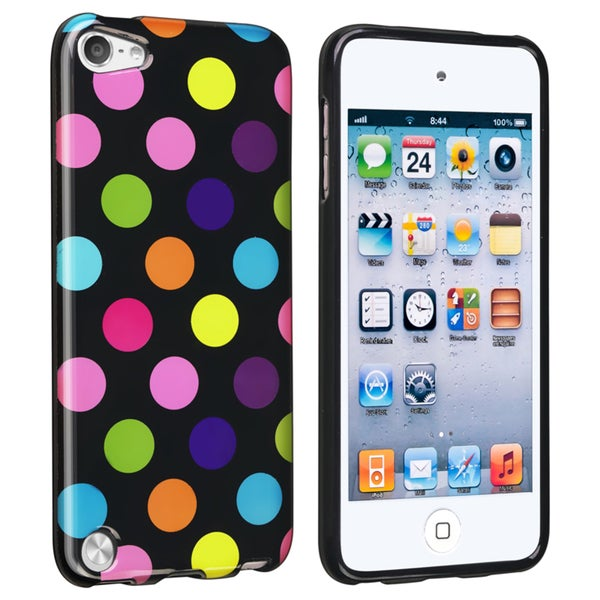 BasAcc Colorful Dots IMD TPU Case for Apple iPod Touch Generation 5