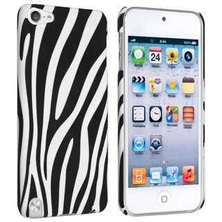 BasAcc Black/ White Zebra Case for Apple iPod Touch Generation 5
