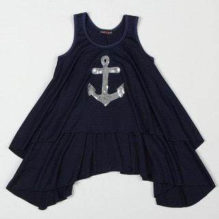 Sweetheart Jane Girl's Nautical Tunic