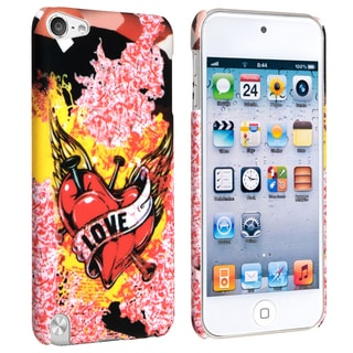 BasAcc Combustion/ Love Case for Apple iPod Touch 5th Generation