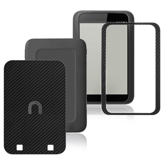 BasAcc Carbon Fiber Black Decal Sticker for Barnes & Noble Nook HD