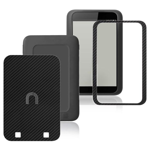 INSTEN Carbon Fiber Black Decal Sticker for Barnes & Noble Nook HD