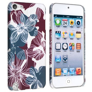 BasAcc Flower Rear Style 30 Case for Apple iPod Touch Generation 5