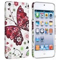 BasAcc White/ Butterfly 26 Case for Apple iPod Touch Generation 5