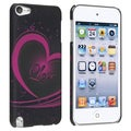 BasAcc Black/ Purple Love Case for Apple iPod Touch Generation 5