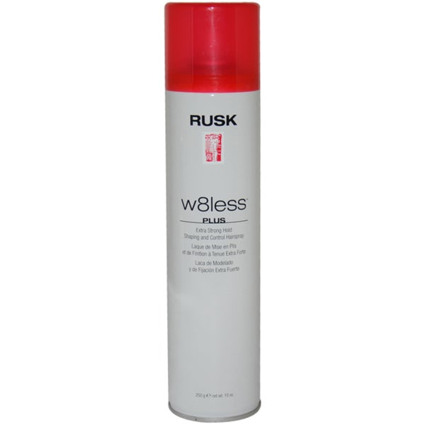 Rusk W8less Plus Extra Strong Hold Shaping and Control 10-ounce Hair Spray