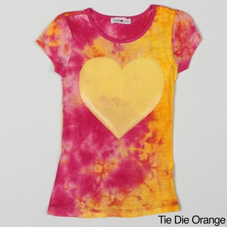 Sweetheart Jane Girl's Sequin Heart Tee Shirt