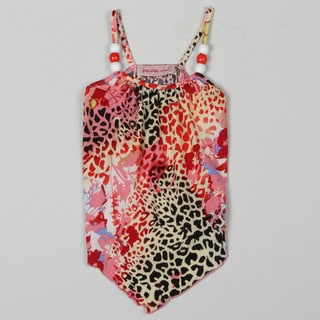 Paulinie Collection Girl's Animal Print Tank Top