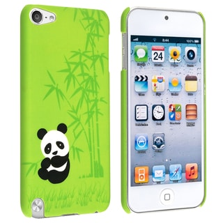 BasAcc Green Panda Rear Case for Apple iPod Touch Generation 5