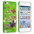 BasAcc Green/ Butterfly 15 Case for Apple iPod Touch Generation 5