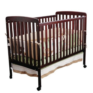 K&B B5009C Cherry Finish Baby Crib