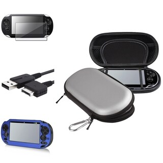 INSTEN Case Covers/ Screen Protector/ USB Cable for Sony PlayStation Vita