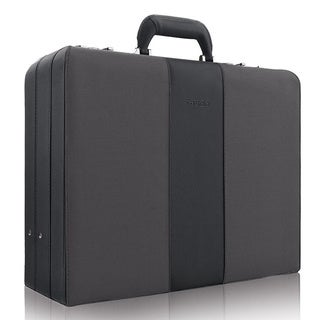 Solo Deluxe Classic Attache 17-inch Laptop Business Case