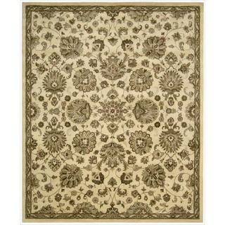 Hand-Tufted Jaipur Ivory Rug (9'6 x 13'6)