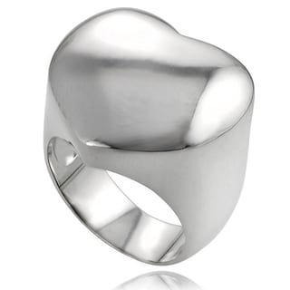 Tressa Sterling Silver Heart Ring