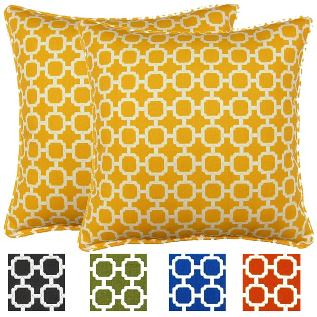 Polyester, Blue Outdoor Cushions & Pillows | Overstock.com: Buy