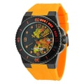 Ed Hardy Men's Steel Dive Immersion Dragon Watch