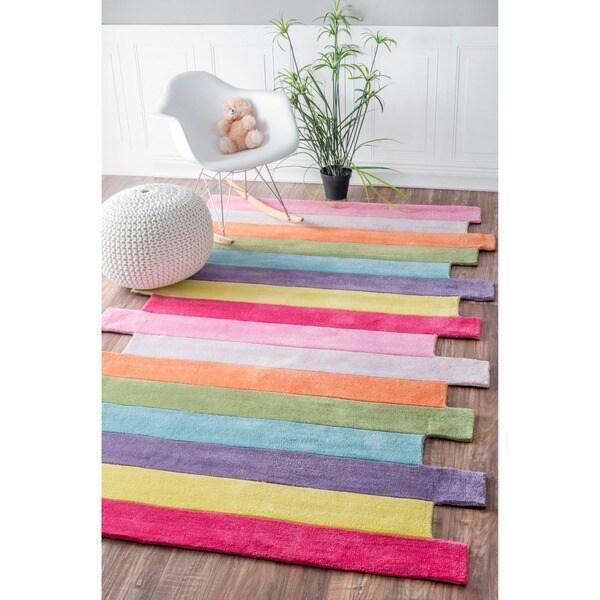 nuLOOM Handmade Kids Stripes Multi Rug